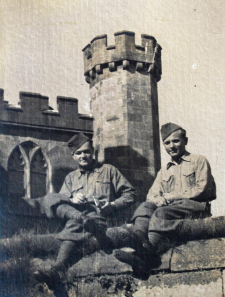 Jan Kubiš and Jozef Gabčík in Great Britain.
