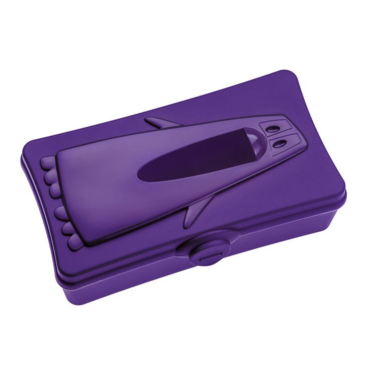 Podajnik na chusteczki fioletowy - Koziol - Ping Pong