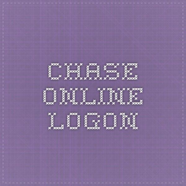 Chase Online - Logon