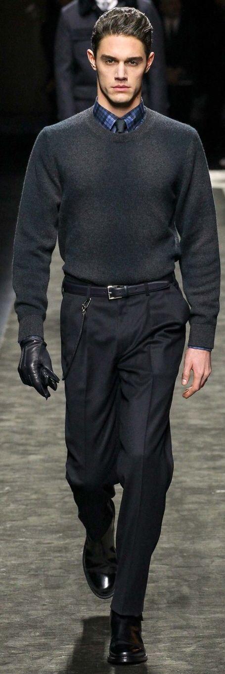Brioni Fall 2015 Menswear | Men's Italian Fashion & Style | Business Casual | Moda Masculina | Shop at designerclothingfans.com