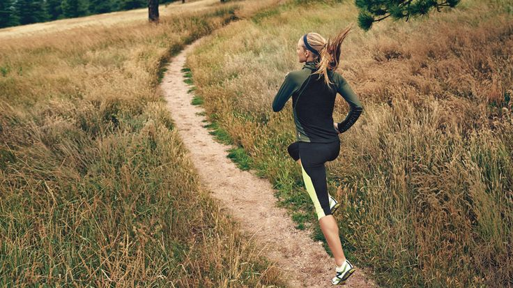 Become a Master Trail Runner | From flat gravel paths to rolling wooded hills, trails offer challenging terrain—and usually an inspiring natural setting—that activates more muscles and tones all over. Here's how to get started, plus three workouts to try.