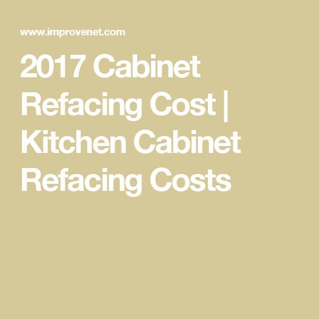Best 25+ Refacing Kitchen Cabinets Ideas On Pinterest