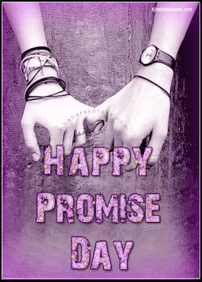 Animated Happy Promise Day GIF Images