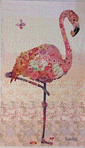 Pinkerton Flamingo Collage Quilt Pattern By Laura Heine Fiberworks http://smile.amazon.com/dp/B019YUEKYI/ref=cm_sw_r_pi_dp_o7YYwb1ASVQHS