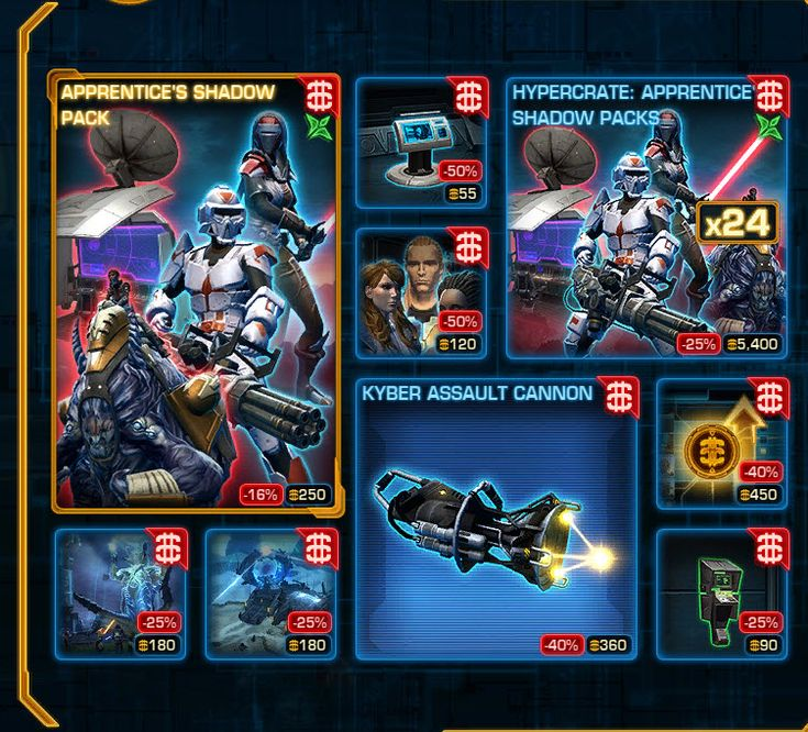 17 Best images about SWTOR Cartel Market items on ...