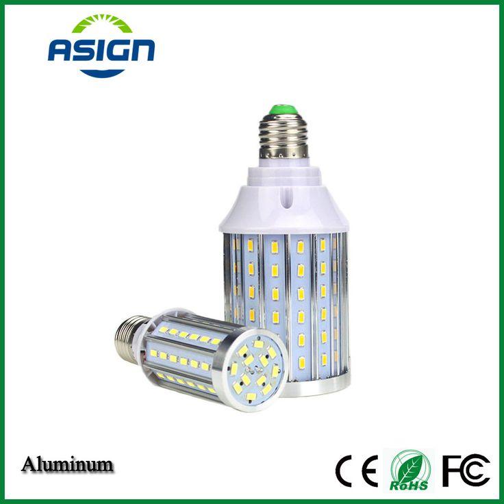 E27 Corn Bulb High Power SMD5730 Led Aluminum PCB Cooling 12W 20W 25W 35W 40W 50W No Flicker LED Spotlight Bulb Light AC85-265v #Affiliate