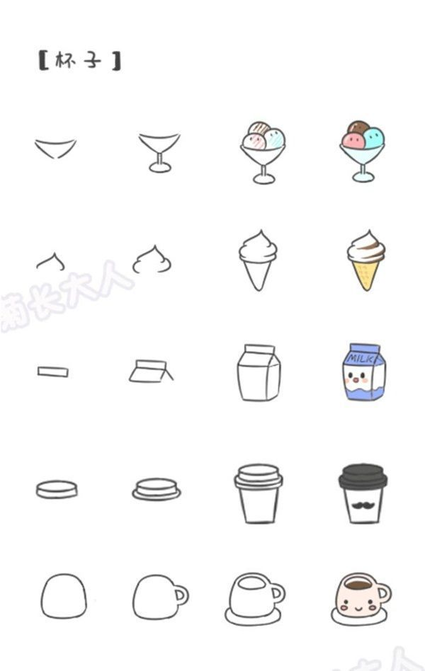 How To Draw Doodles Step By Step Image Guides Cute Easy
