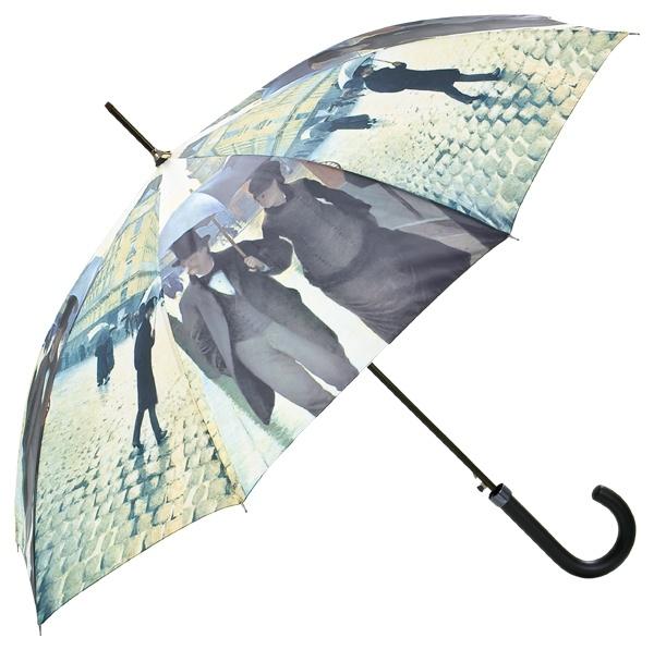 "Automatic umbrella Gustave Caillebotte: ""Rainy Paris"" ❤ http://www.beimjupiter.com/Media/Shop/5610a_az1.jpg"
