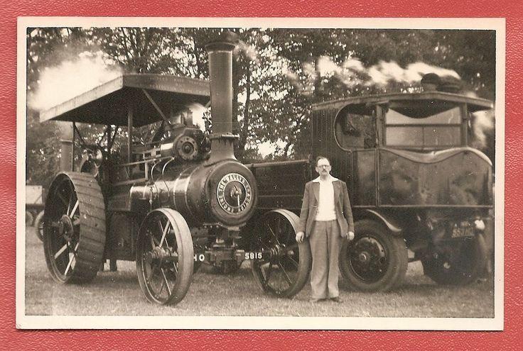 Wallis Steevens Traction Engine REG NO HO5815 Sentinel Steam Wagon Photo | eBay