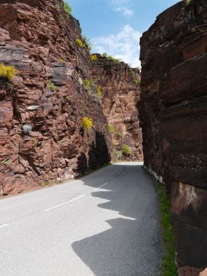 ROUTE LES GORGES DU DALUIS ET DE CIAN Esta ruta la hacemos dentro de la ruta de La Provenza (WEB)