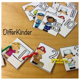 A Differentiated Kindergarten: The KEY to making math stations fun!