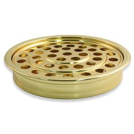 Brass-tone Communion Tray