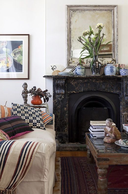 Sydney Home of Sally Campbell. All Photographs - Felix Forest, styling / production – Lucy Feagins / The Design Files.