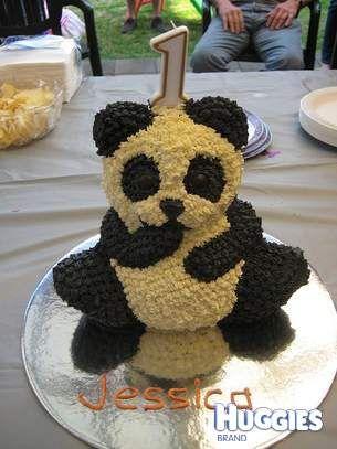Too cute panda