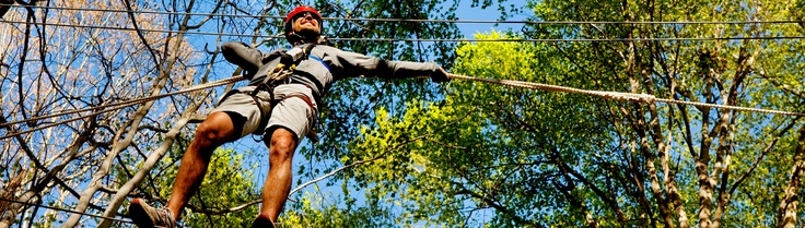 U.S. National Whitewater Center, Charlotte, NC (rope courses, rafting, kayaking, zip lines, rock climbing all for one low price)
