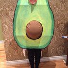 """My 7 months pregnant wife as an avocado."" : halloween"