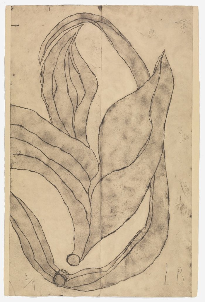 Louise Bourgeois, À Baudelaire, 2008. Etching on paper. © The Easton Foundation/DACS