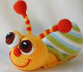 FREE Amigurumi PATTERNS: PATRON SNAIL
