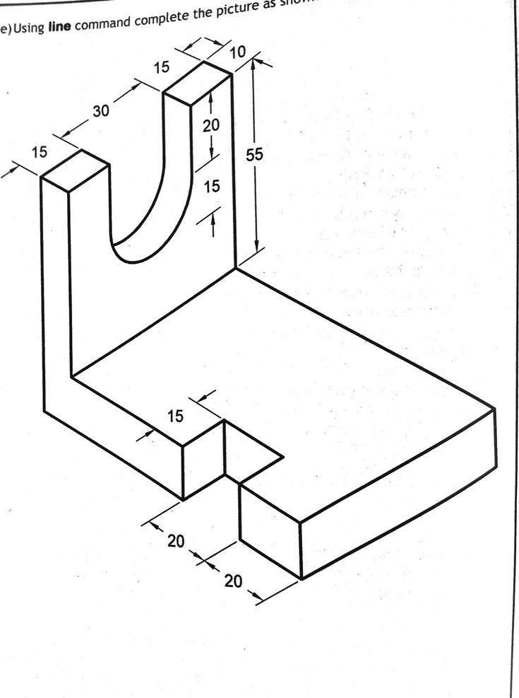 Simple Isometric Drawings