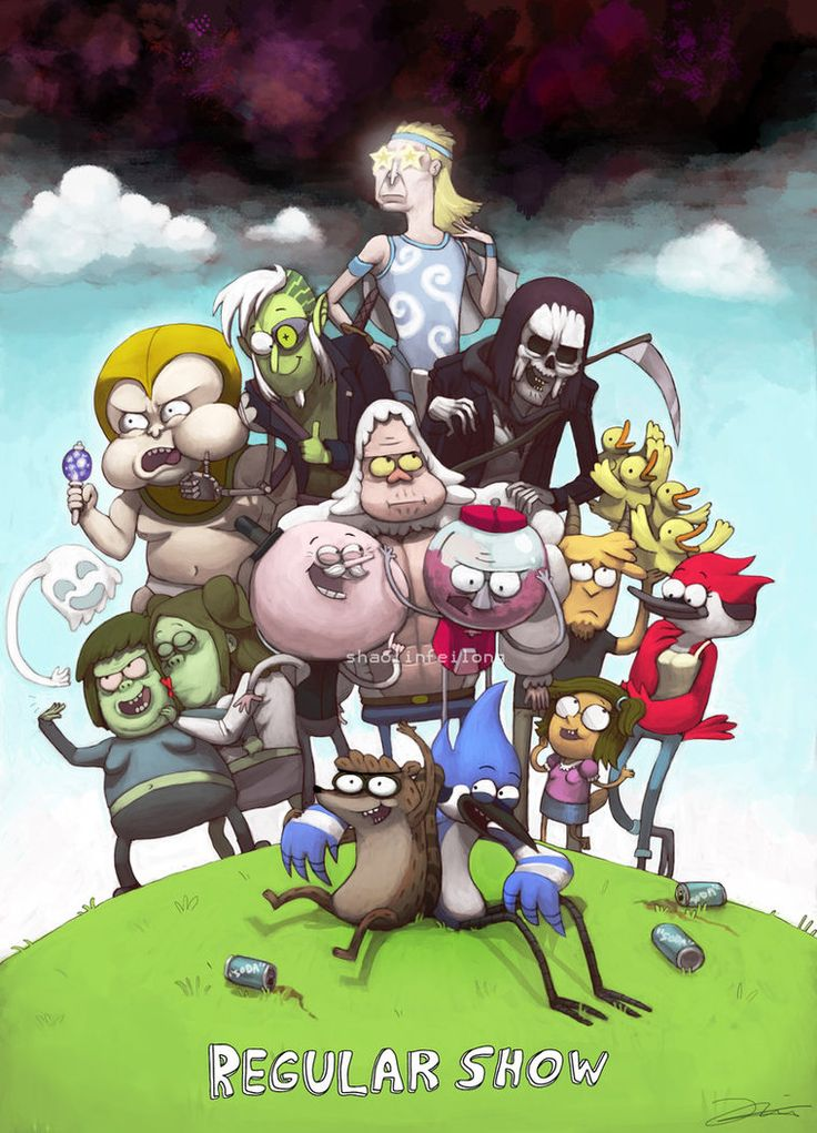 Regular Show by ~shaolinfeilong on deviantART