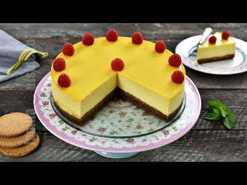 Cheesecake la cuptor - reteta video | JamilaCuisine