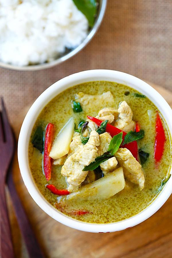 Thai Green Curry from @rasamalaysia