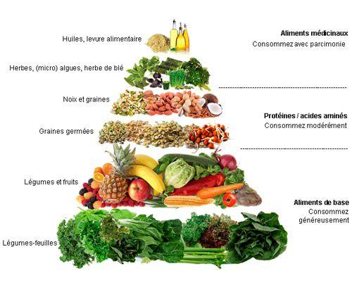 Les Normes de l'alimentation vivante: pour une santé et une longévité optimale, c'est l'bon chemin à suivre!