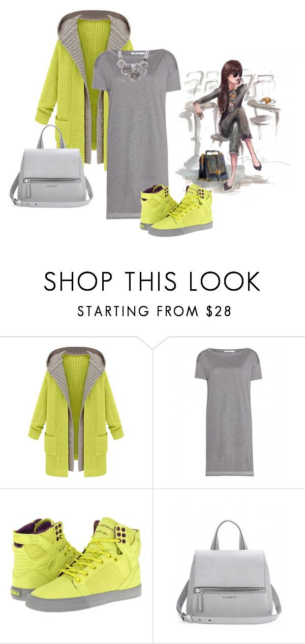 """""""Спортивный шик"""" by las86 ❤ liked on Polyvore featuring T By Alexander Wang, Supra and Givenchy"""