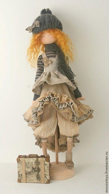 """Коллекционные куклы ручной работы. Ярмарка Мастеров - ручная работа Кёко """"Ветер странствий"""". Handmade."""