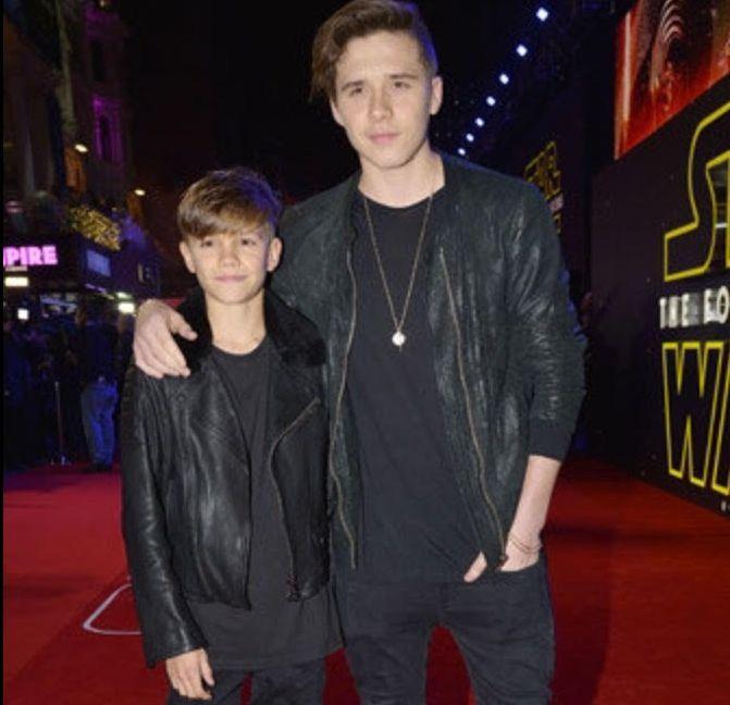 Les fils Beckham aussi sexy que papa !