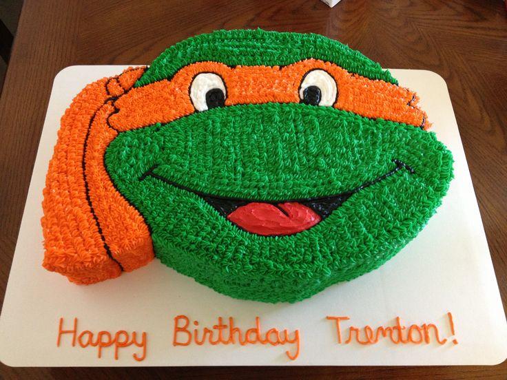 pasteles decorados con la tortuga ninja - Buscar con Google