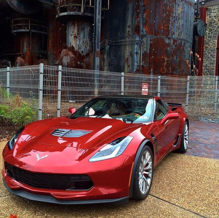 2016 long beach red corvette z06 - 2016 Corvette Stingray And Z06 Spice Red Design Package