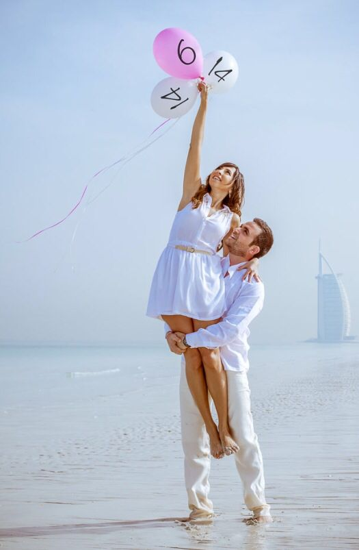 Save the date - Balloons - pre wedding photo-shoot - George&Joanne