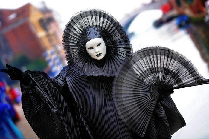 Venice Carnival, Italy-Carnival masks