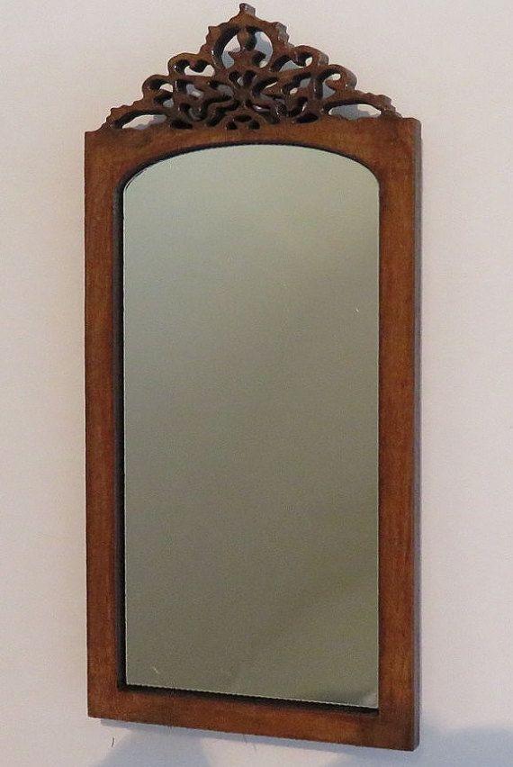 poppenhuis miniatuur spiegel 1:12 , doe het zelf pakket.