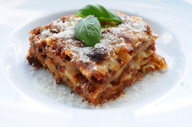 Lasagne med aubergine og pecorino | JulieKarla