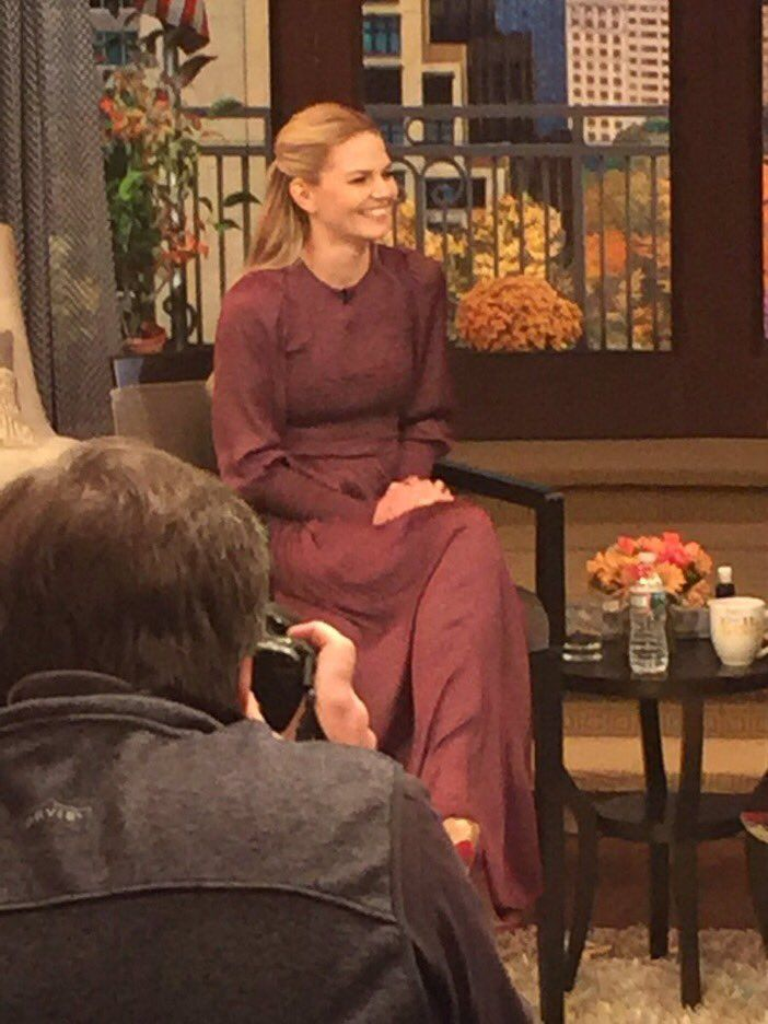 Jennifer Morrison at LiveKelly - 7 October 2016