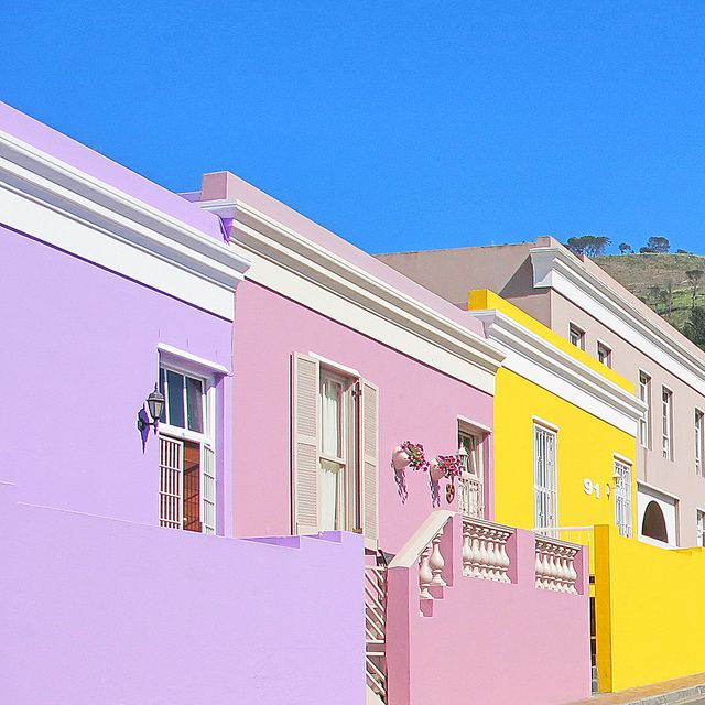 Bright houses in Bo-Kaap | Flickr - Photo Sharing!