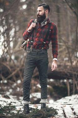 me snow fashion style Model forest men male model mens fashion menswear male hot guys top model beard hiking beards Mens Clothing modelling lumberjack manly bearded drmartans