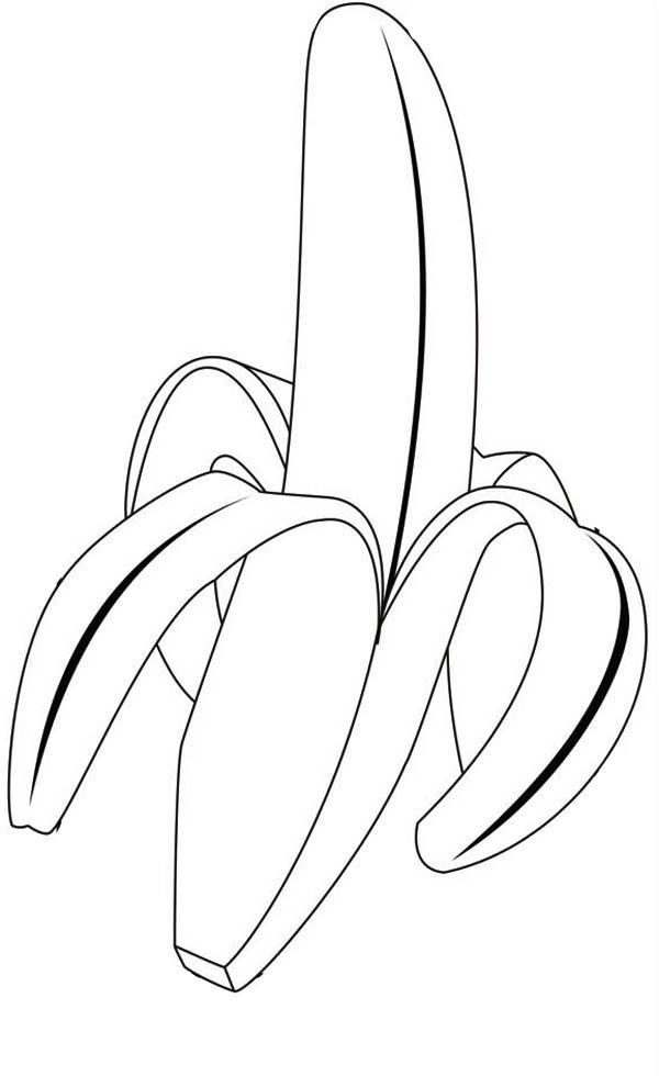 Tropical Fruits Colouring Pages Page 2