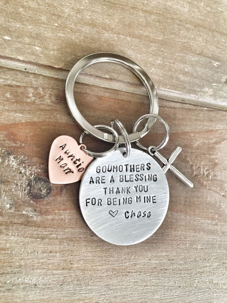 Baptism Christening Keychain for Godmother Godfather - Godparents gift Religious gift by HandToHeartJewelry on Etsy https://www.etsy.com/ca/listing/246392816/baptism-christening-keychain-for