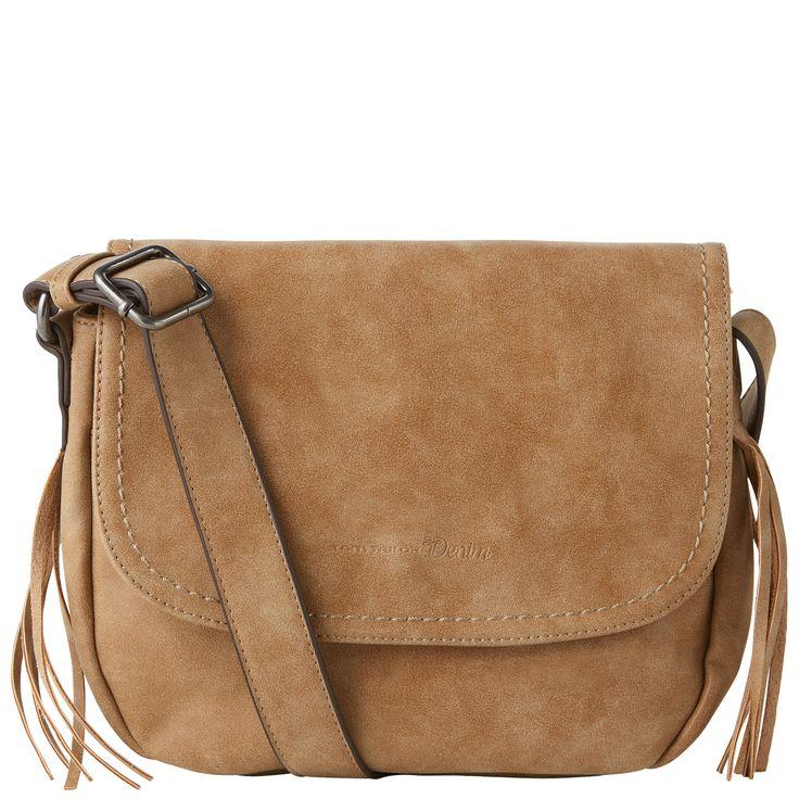 Umhänge-Tasche mit Fransen-Detail - cross bag diana von TOM TAILOR