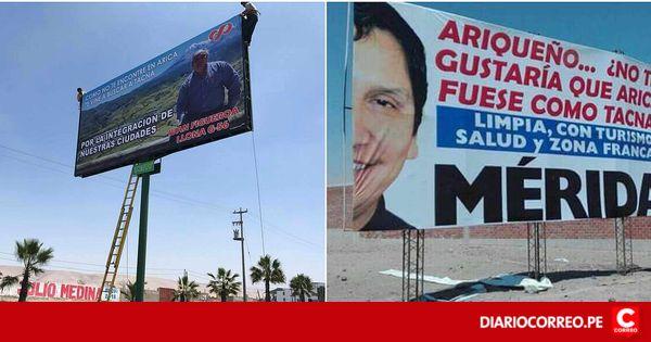 Candidatos a diputados chilenos se promocionan políticamente en Tacna - Diario Correo