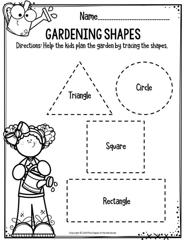 Preschool Worksheets | Preschool worksheets, Printable ...