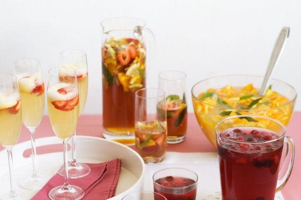 The best summertime drink, love, love, love!!!  Pimm's Punch Recipe - Taste.com.au