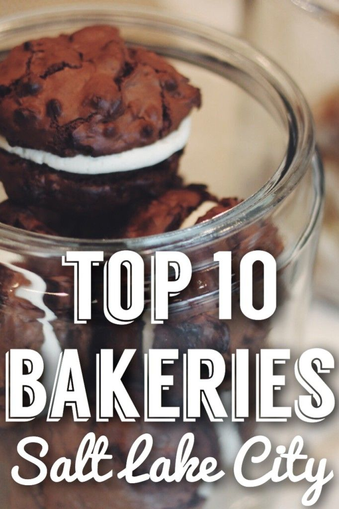 Female Foodie's Top 10 Bakeries in SLC