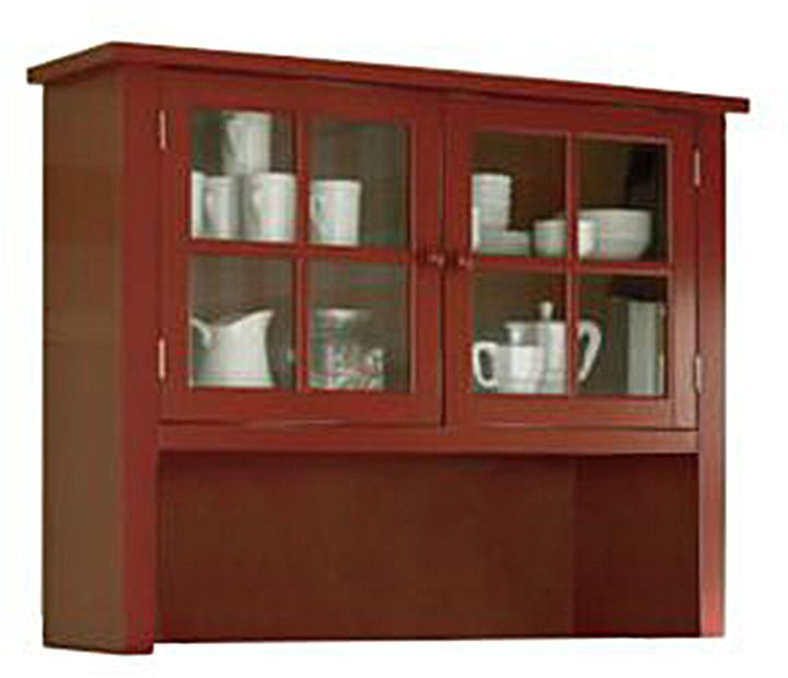FURNITURE PRIVATE BRAND Hartford Hutch   | red, dark red bright red, pattern, burgundy, red aesthetic, red things, red board, red furniture  ( affiliate )