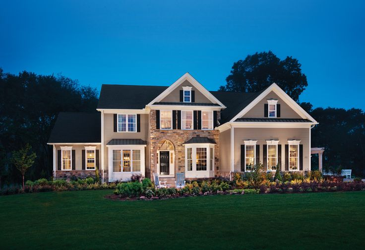 Toll Brothers - Award-Winning Columbia Country Manor Model Home