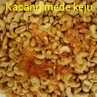 #Kacang mede keju. 1kg = 170ribu. 1/2kg = 95ribu