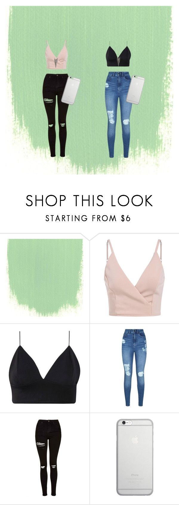 """""""sister 2"""" by emy-belle on Polyvore featuring mode, Lipsy, Topshop, Native Union et Jules Smith"""